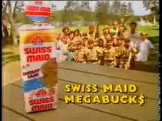 Tip Top Swiss Maid Megabucks - Good on ya Mum (Australian Ad, 1991)