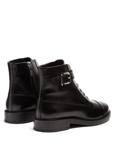 Click here to buy Tod's Lace-up smooth-leather ankle boots at MATCHESFASHION.COM