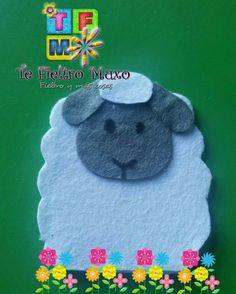 Marioneta de dedos de oveja