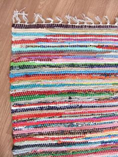 indian rag rug for the diningroom Fair Trade, Recycling, Indian, Rugs, Bedroom, Cotton, Farmhouse Rugs, Bedrooms, Upcycle