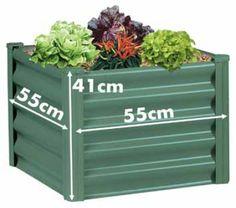 Square Raised Garden Beds. 55*41 cm