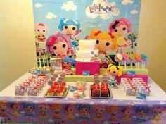 Lalaloopsy Party   CatchMyParty.com #lalaloopsy #party