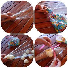 dulces en conos de celofan18