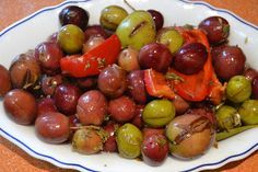La cocina de Maite: ACEITUNAS ALIÑADAS