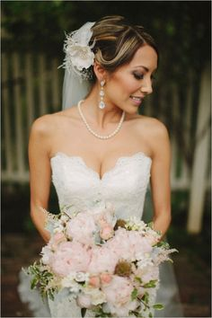 romantic bridal looks