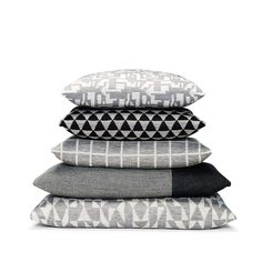 Cushions from Danish FUSS in beautiful combinations Simplicity Sofas, Knit Pillow, Cushions, Pillows, Soft Blankets, Muted Colors, Danish Design, Plaid, Instagram Posts