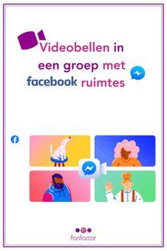 Facebook heeft sinds kort een nieuwe functie die mensen bij elkaar brengt: Facebook Ruimtes of Rooms. Wil jij met maximaal 50 mensen – zonder tijdslimiet – samenzijn en communiceren via beeld en spraak? Digital Nomad, Facebook Marketing, Travel, Viajes, Destinations, Traveling, Trips