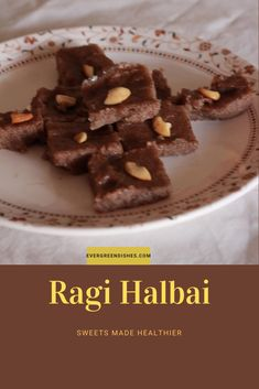 Ragi Halbai is a finger millet fudge, tasty and healthy. It is delicious and I keep making it often. It is ideal for festive days ahead. #festive #sweets #healthyeating #millets #siridhanya Ragi Recipes, Dry Snacks, Roasted Cashews, South Indian Food, Indian Sweets, Karnataka, Recipe Collection, Tasty Dishes, Indian Food Recipes