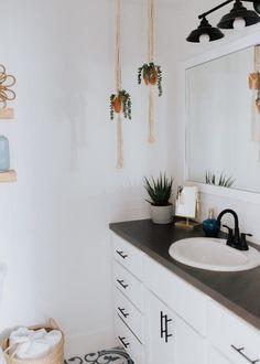 Baby Boy's Bathroom – Boho Modern Bathroom