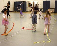 Creative Movement and Dance Lesson Ideas for Preschool Children - great ideas!