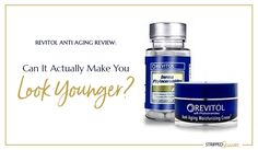 Is this anti aging line right for you? #antiaging #antiagingproducts #revitol