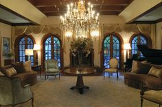 The Grand Salon - Louisiana Plantation - traditional - living room - new orleans - Design By Todd