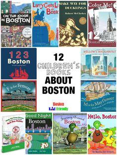 12 Children's Books about Boston, the Red Sox, and more!