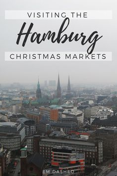 No one does a Christmas market quite like the Germans! Read about our time eating, drinking, and merrymaking at Hamburg's Weihnachtsmarkt.   #Hamburg #Germany #Weihnachtsmarkt