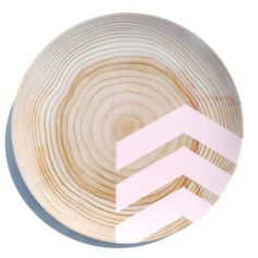 Modern Wood Simple Chevron 10 Melamine Plate by nicoleporterdesign  sc 1 st  Pinterest & Pin by Jamie Cobb on For the Home   Pinterest   Woods Modern and ...
