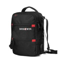 Swisswin Men's Small Shoulder Bag Black Crossbody Bag For Ipad and Cellphone Casual Music Messenger Bag for Tablets With handle Mens Small Shoulder Bags, Ipad Bag, Current Fashion Trends, Ipad Sleeve, Black Cross Body Bag, Jansport Backpack, Laptop Accessories, Crossbody Bag, Black Crossbody