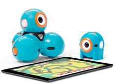 Love these robots simple enough for a kid as young as six to program. A great STEM tool, a fun learning game,  amazing toy as tech fun!