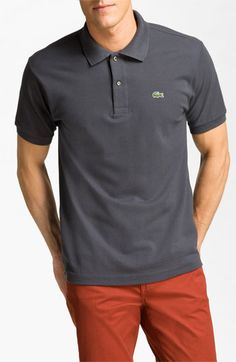 These would be great for our Golf Tournament Volunteers - Lacoste L1212 Piqué Polo available at #Nordstrom