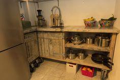 Schot & Scheef   Houten keuken steenschotten