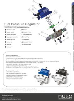 Nuke Performance - Fuel Pressure Regulator