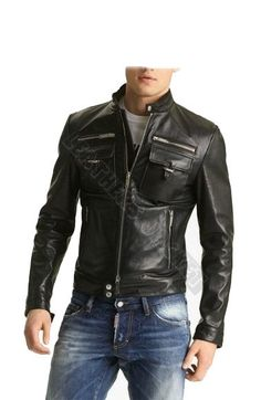 Black Leather Jackets For Sale HaNF4t