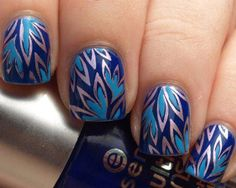 whoa... i want to attempt this but know i could NEVER get it to look good on my right hand! lol