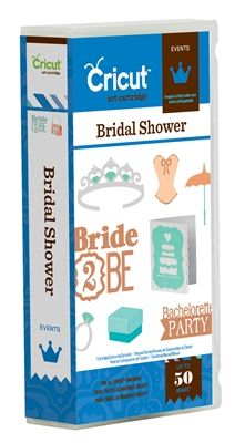 Bridal Shower Cricut Cartridge