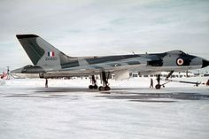 Avro Vulcan B1A XH480 of the Waddington Wing at Goose Bay in 1965. 480 was delivered as a B1 to No 83 Squadron at Waddington in April 1958. When 83 Squadron reformed with B2s at Scampton in 1960, 480 remained at Waddington forming No 44 (Rhodesia) Squadron before being pooled into the Waddington Wing. It was converted to B1A standard in 1962. In November 1966, 480 was retired to St Athan and sold as scrap in 1968. Scrap, fire dumps, i wanna cry!
