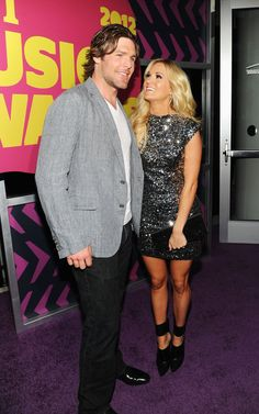 Pin for Later: Carrie Underwood and Mike Fisher Are Already the Most Adorable Parents  Carrie only had eyes for Mike during a 2012 appearance at the CMT Music Awards in Nashville.