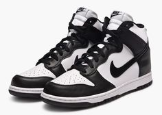 Nike Dunk High Black White 846813-002