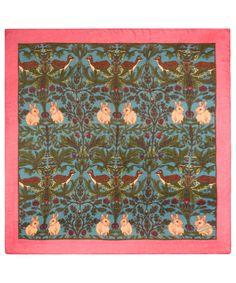 Silken Favours Dear Forest Scarf | Silk Scarves by Silken Favours | Liberty.co.uk