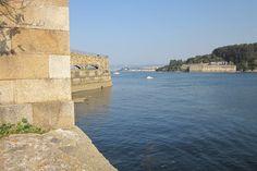 Castelo da Palma dende o castelo de San Felipe