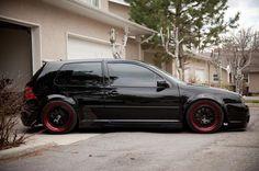 Black MK4 GTI