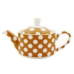 Yedi Teapot :: pumpkin dots