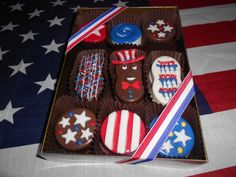 Oreo's and Nutterbutter's for the 4th!