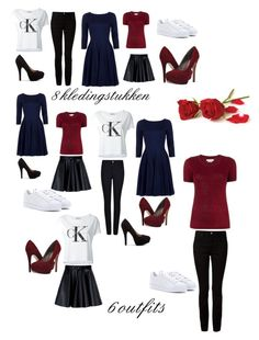 CPL Capsule Warderobe by delphine-degraeve on Polyvore featuring Étoile Isabel Marant, Calvin Klein Jeans, MSGM, T By Alexander Wang, Armani Jeans, adidas and Michael Antonio