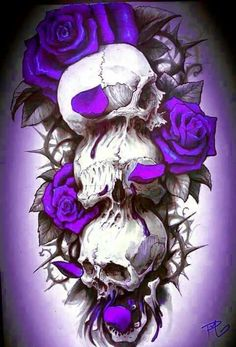 #skulls..Lauren I know you'll really like this one