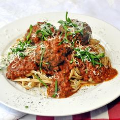 Tomato Asiago Sauce - tender meatballs in a red herb-tomato sauce ...