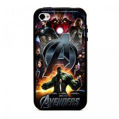 Coque iPhone 4 4S The Avengers - Marvel Studios Coque De Téléphone,  Conception Intelligente 05321224b03