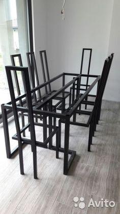 Металлический каркас для столов, стульев, стеллажа— фотография №2
