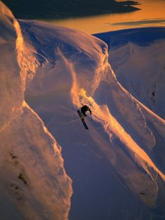 So sick!  Skiing in the Midnight Sun, Narvik, Norway