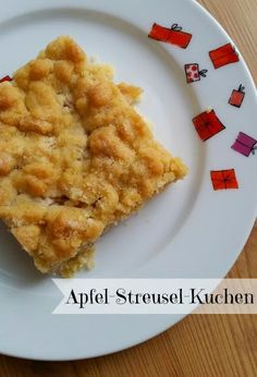 Meine rosa Welt: Sweet Sunday - Apfel-Streusel-Kuchen