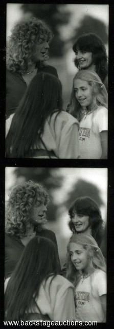 1108: Led Zeppelin 1979 Lot of 98 B/W Knebworth Backstage Negatives With Full Rights - Store - Backstage Auctions, Inc.