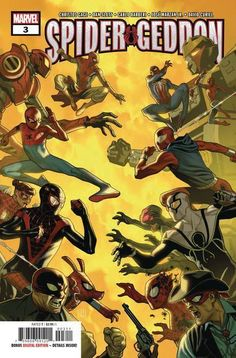 Buy SPIDER-GEDDON (OF from Marvel Comics and other great comics & collectibles at discounted prices. Marvel Comics, Marvel Comic Books, Marvel Characters, Marvel Heroes, Comic Books Art, Marvel Avengers, Comic Art, Spiderman Art, Amazing Spiderman