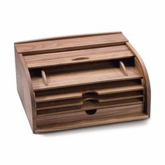 Walnut Rolltop Letter and Document Storage_03
