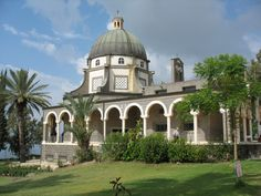 Another favorite place - The Mount of Beatitudes in Galilee, north Israel