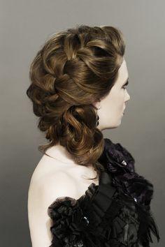 www.sharonblain.com  Image from Step-By-Step DVD  How To Do...Creative Braids  hair, long hair, braids