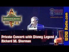 VIDEO: Disney Legend Richard M Sherman Concert on the Disney Dream with WDW Radio