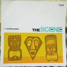 Kitsch-A-Rama by The Scene. -Megatrax Production Music TS036, compact disc CD, c2009. Mix of Hawaiian/exotic/latin/space age production music.