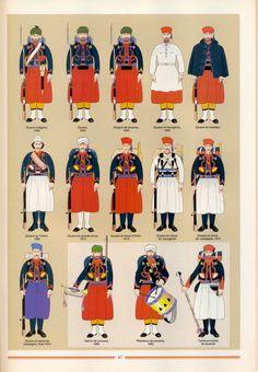 French zuaves uniforme